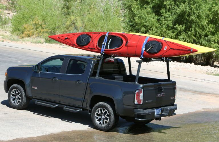 2016 GMC Canyon with Kayaks