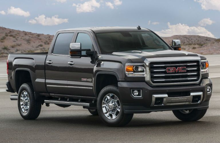 Front profile of 2016 GMC Sierra 2500HD