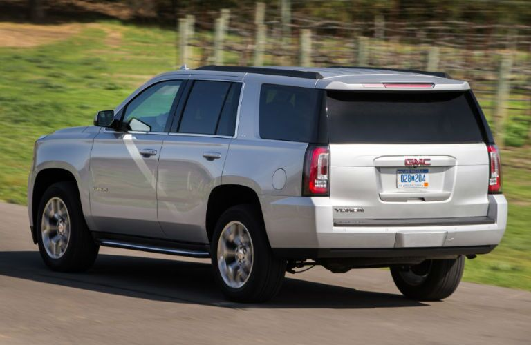 Rear profile of 2016 GMC Yukon