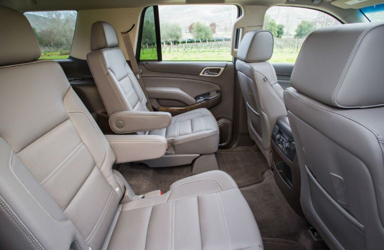 2016 GMC Yukon has very comfortable seats