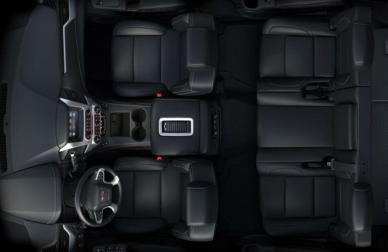 Interior seating in 2016 GMC Yukon XL