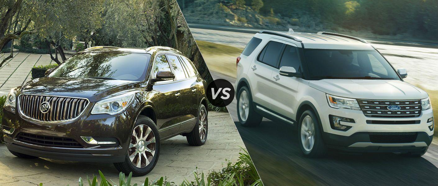 2016 Buick Enclave vs 2016 Ford Explorer
