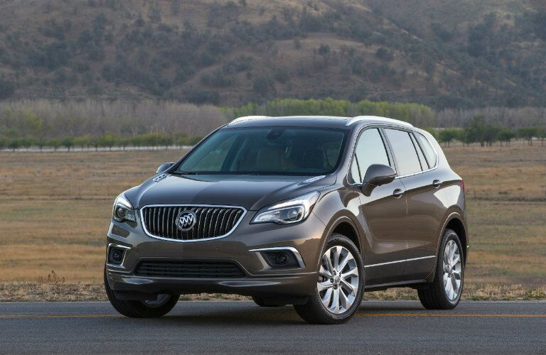 Front view of the 2016 Buick Envision