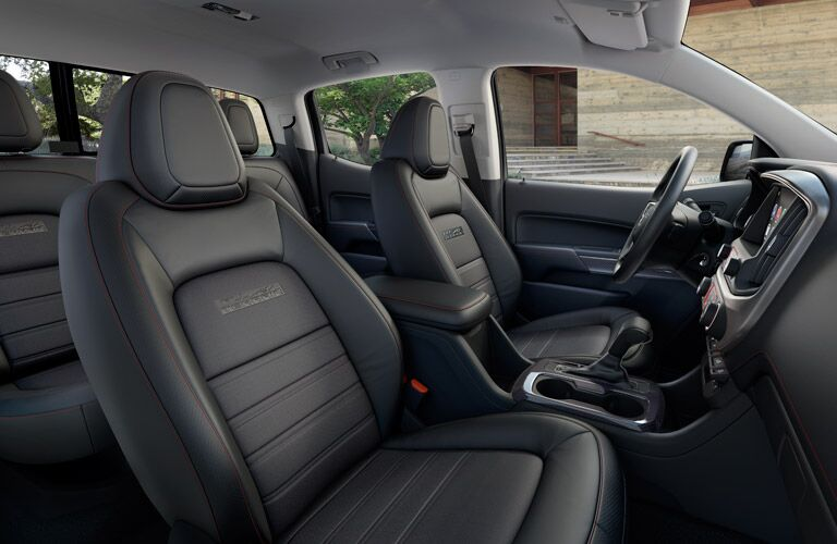 Interior of 2016 GMC Canyon