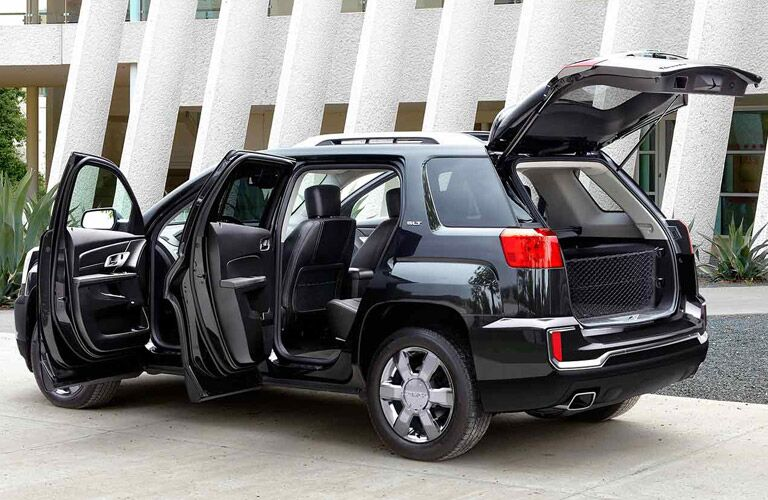 2016 GMC Terrain is very easy to get in and out of