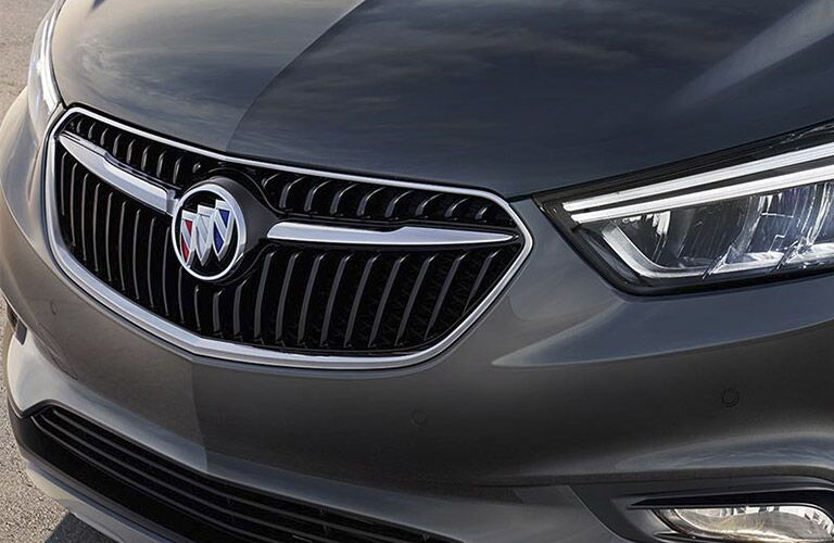 Redesigned front end of 2017 Buick Encore