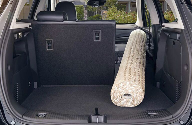 2017 buick encore cargo space fold flat rear and front seat