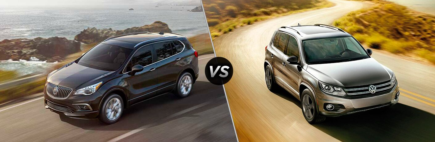 2017 buick envision vs 2017 volkswagen tiguan. Black Bedroom Furniture Sets. Home Design Ideas