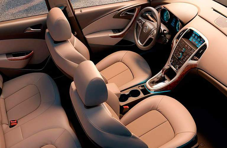 2017 buick verano interior leather seats dashboard
