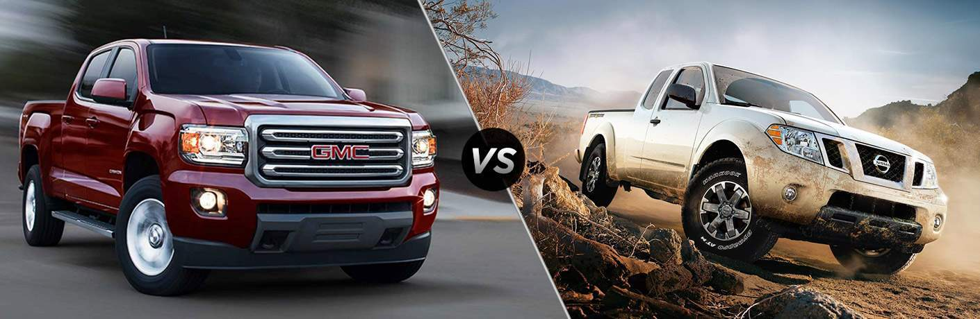 2017 gmc canyon vs 2017 nissan frontier