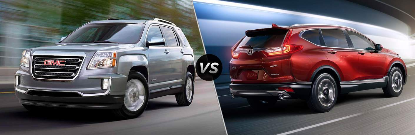 2017 gmc terrain vs 2017 honda c-rv