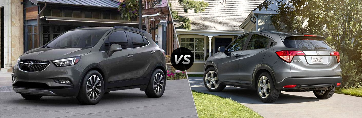 2017 buick encore vs 2017 honda hr v for Buick encore vs honda hrv