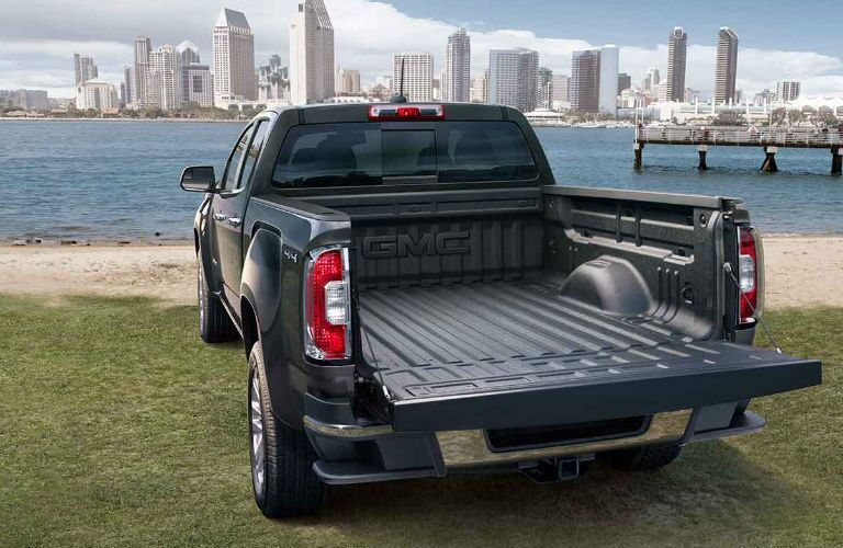 2017 gmc canyon exterior truck bed