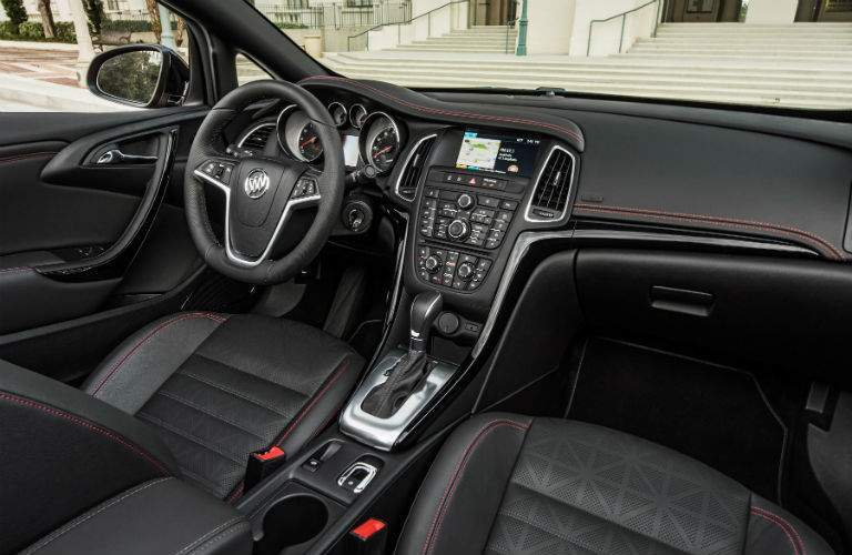 2018 Buick Cascada's driver's cockpit