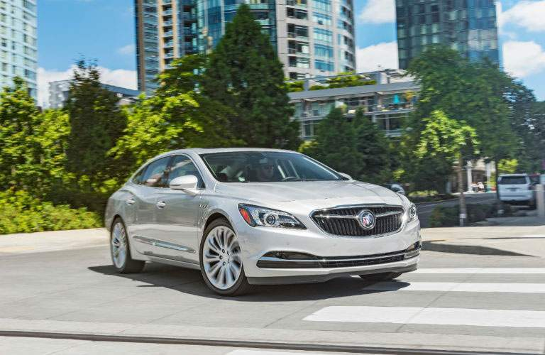 Passenger side exterior view of 2018 Buick LaCrosse