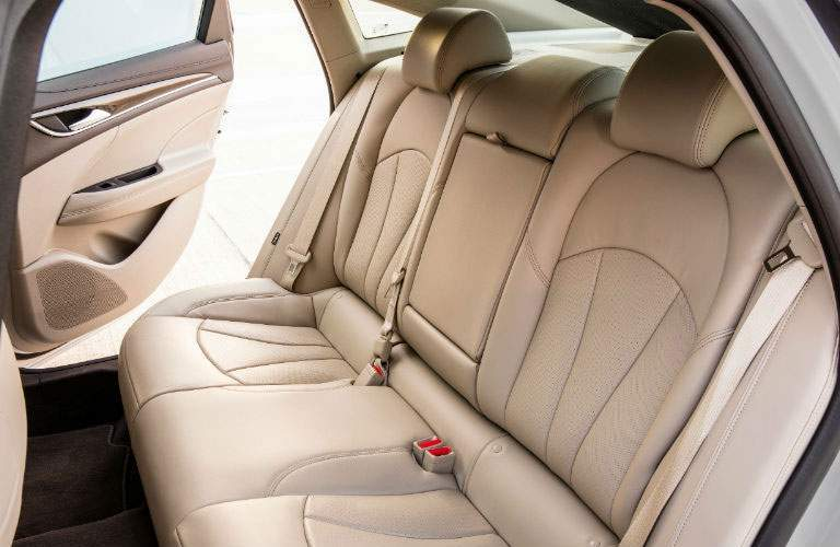 Side view of the 2018 Buick LaCrosse's rear seats
