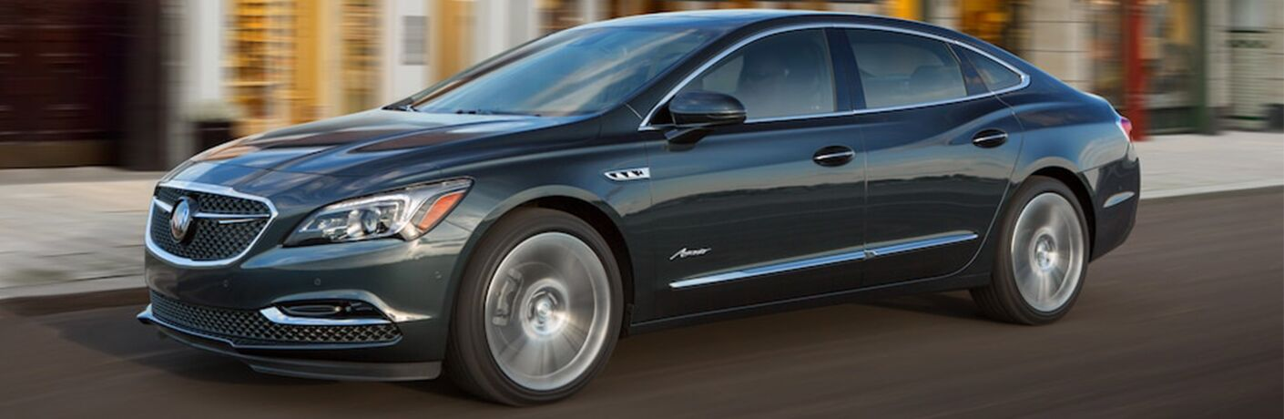 2018 Buick LaCrosse Avenir driving on a road