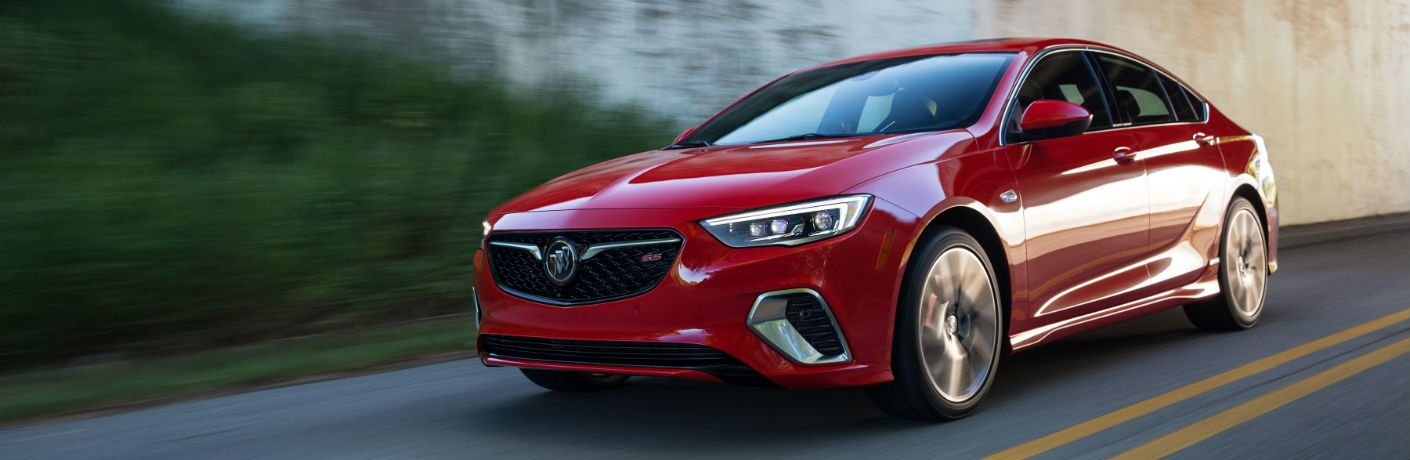 2018 Buick Regal GS driving on road