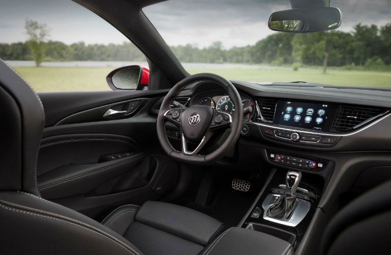 2018 Buick Regal GS front interior