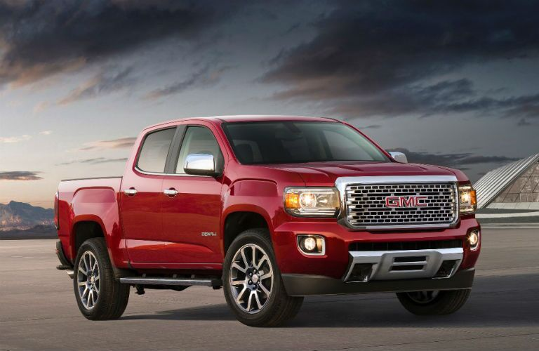 2018 GMC Canyon Denali front profile