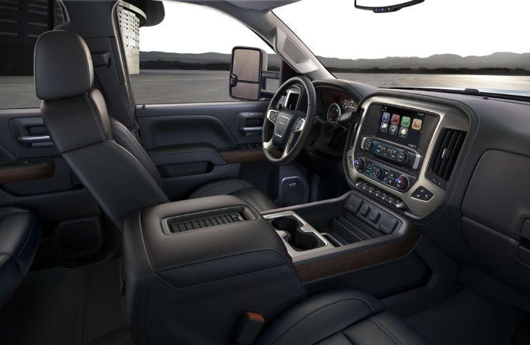 2018 GMC Sierra 2500HD front interior