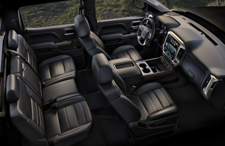 2018 GMC Sierra 2500HD interior seating area