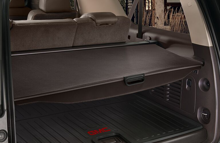 2018 GMC Yukon Denali rear cargo area