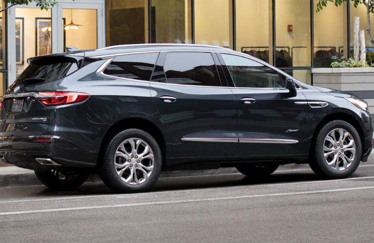 2018 Buick Enclave Avenir parked
