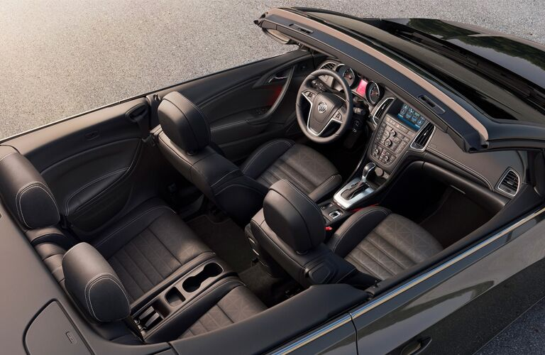 2019 Buick Cascada overhead view of interior