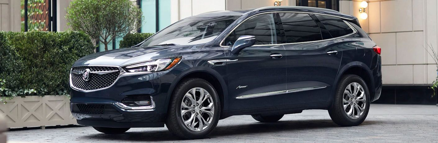 2019 Buick Enclave Avenir parked in a driveway