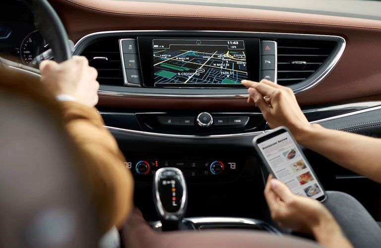 2019 Buick Enclave Avenir navigation system