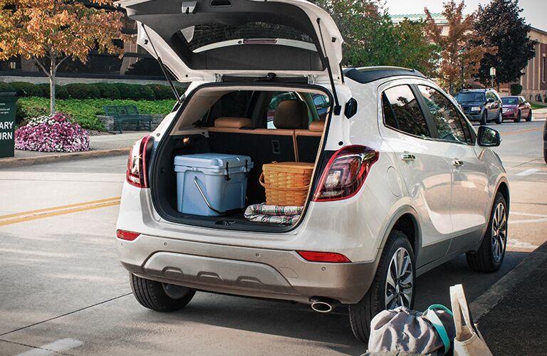 2019 Buick Encore rear cargo area