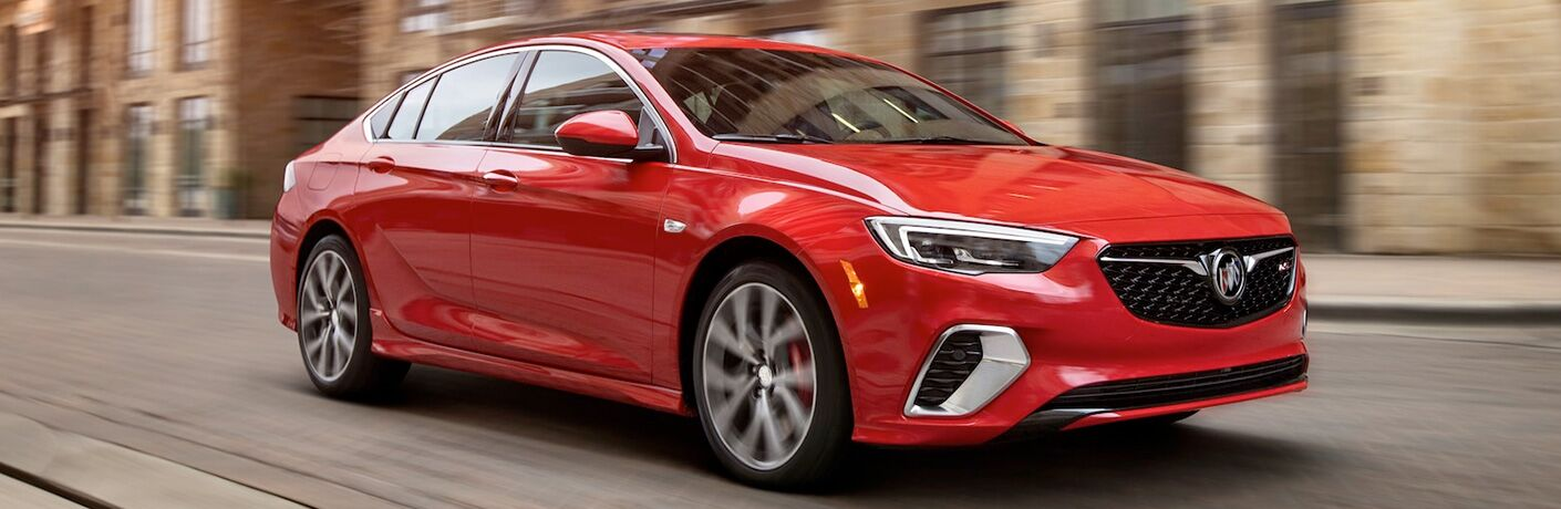 2019 Buick Regal GS driving on a road