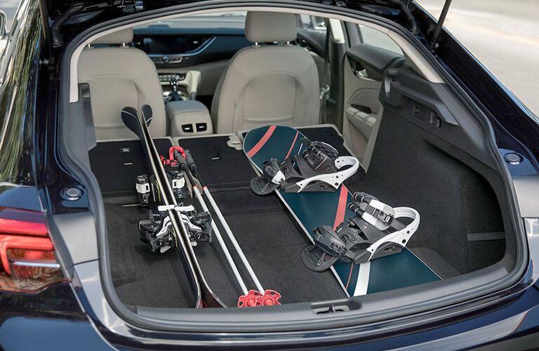 2019 Buick Regal Sportback rear cargo area