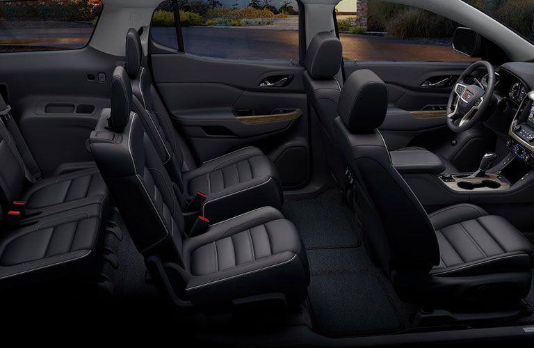 2019 GMC Acadia Denali passenger seats