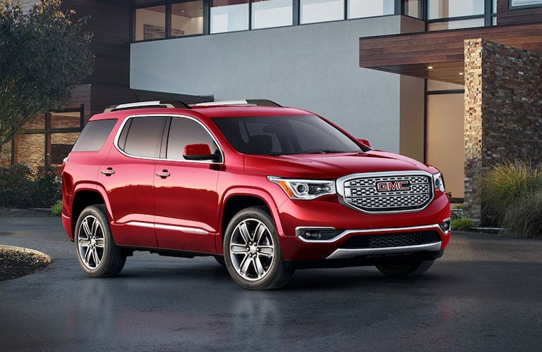 2019 GMC Acadia parked in a driveway