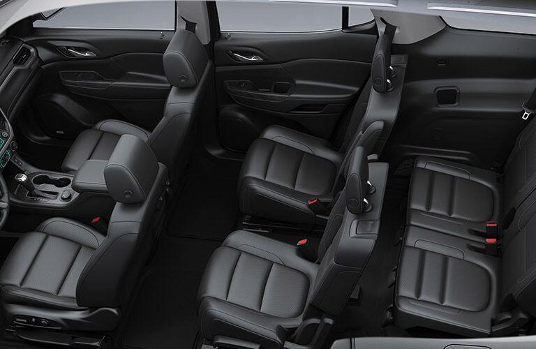 2019 GMC Acadia interior passenger seats