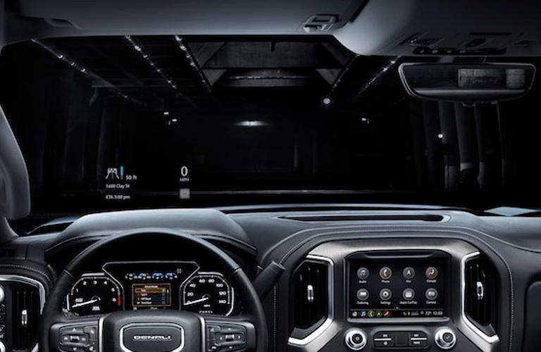 2019 GMC Sierra 1500 head-up driving display