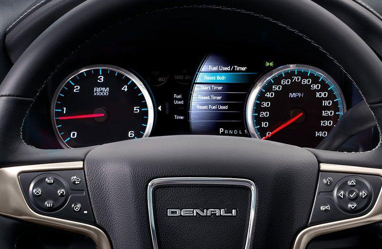 2019 GMC Sierra 2500HD Denali performance gauges