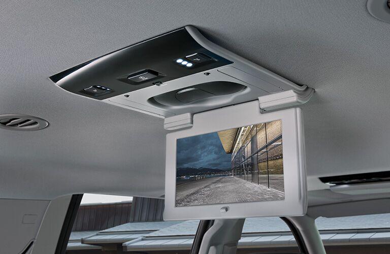 2019 GMC Yukon rear-seat entertainment system