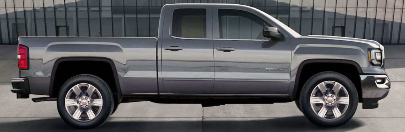 2019 GMC Sierra 1500 Limited side profile