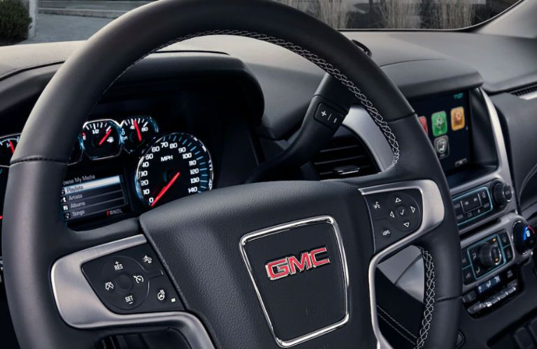 2019 GMC Yukon XL steering wheel