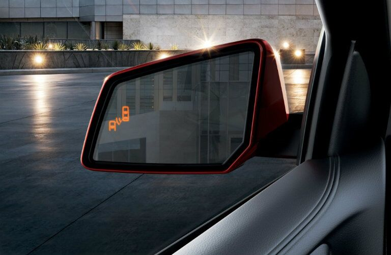 Side mirror of 2016 GMC Acadia