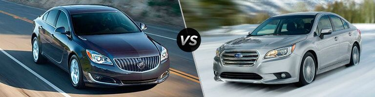 2016 Buick Regal vs 2016 Subaru Legacy