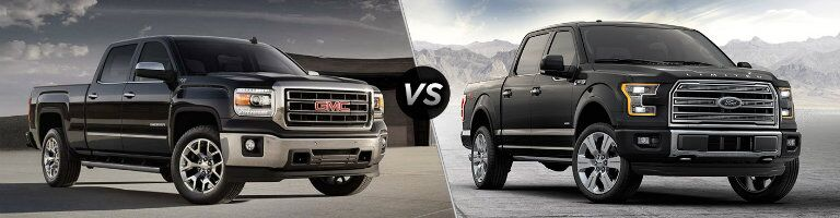 2016 GMC Sierra 1500 vs 2016 Ford F-150