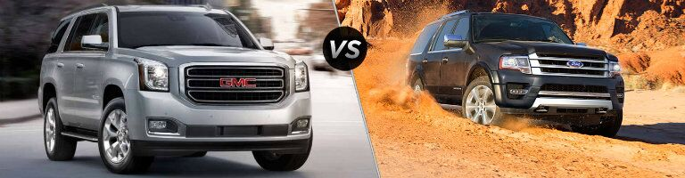 2016 GMC Yukon vs 2016 Ford Expedition