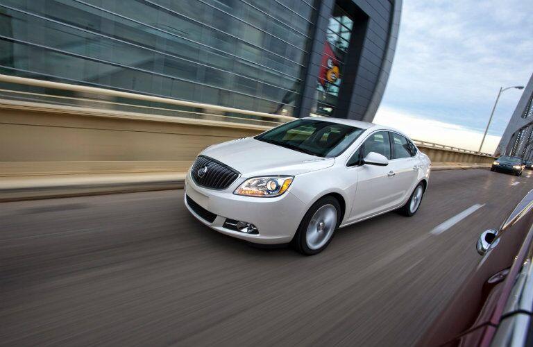 2016 Buick Verano on highway