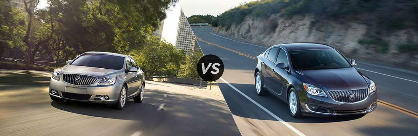 2017 Buick Verano vs. Buick Regal