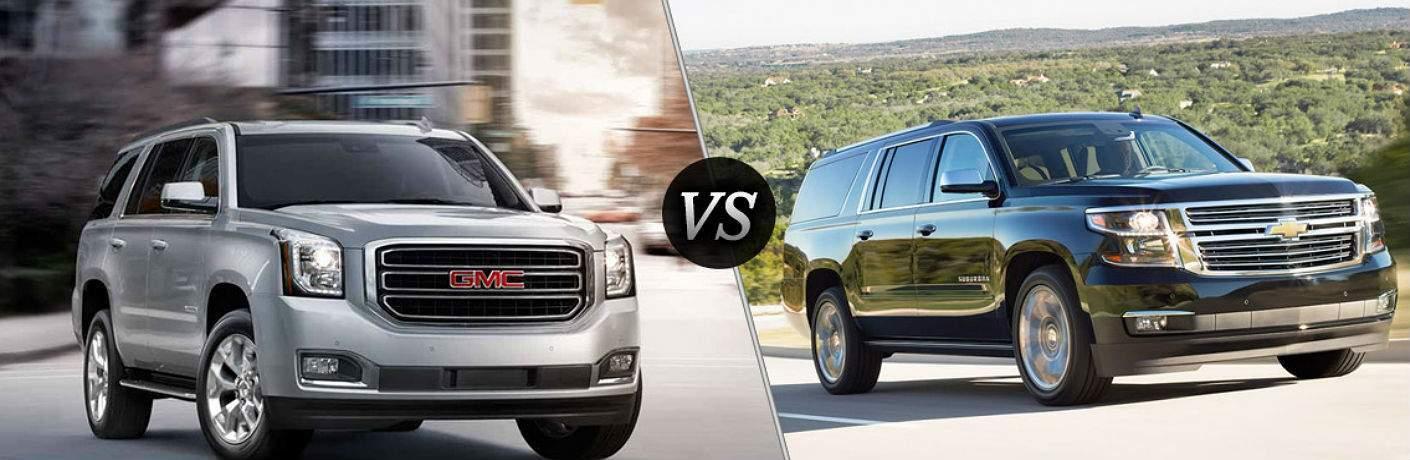 2017 GMC Yukon vs. Chevy Suburban