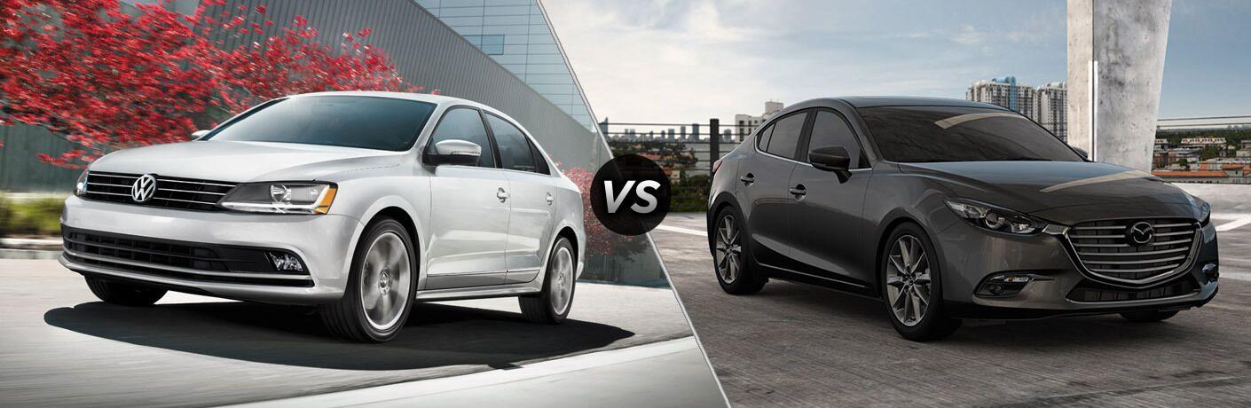 2017 Volkswagen Jetta vs 2017 Mazda3 Elgin IL